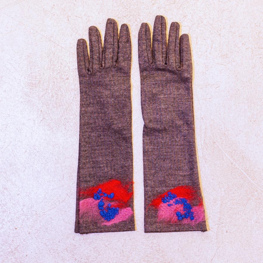 guante fantasía lana